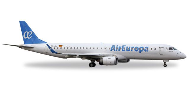 Air Europa Embraer ERJ-195 (1:500), Herpa 1:500 Scale Diecast Airliners Item Number HE529099
