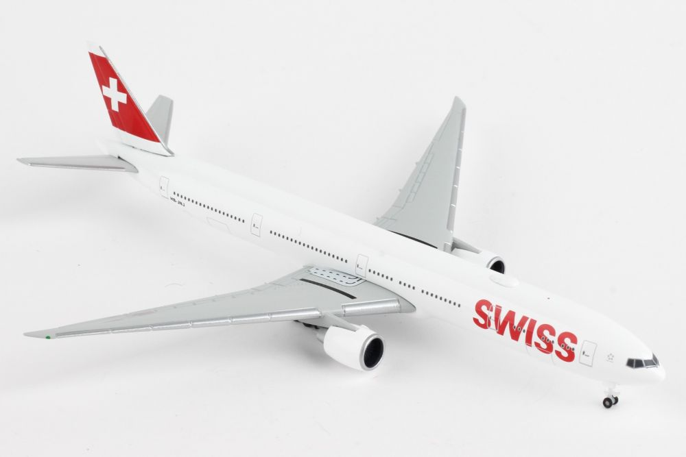 Swiss International Air Lines Boeing 777-300ER (1:500) by Herpa 1:500 Scale Diecast Airliners