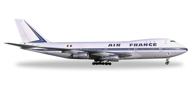 Air France 747-100 F-BPVA (1:500), Herpa 1:500 Scale Diecast Airliners Item Number HE529211