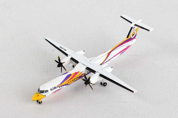 "Nok Air Bombardier Q400 ""Nok Anna"" HS-DQA (1:500), Herpa 1:500 Scale Diecast Airliners Item Number HE529662"