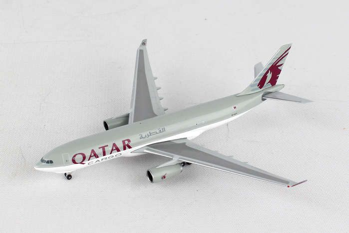 Qatar Cargo A330-200F A7-AFY (1:500), Herpa 1:500 Scale Diecast Airliners Item Number HE529884