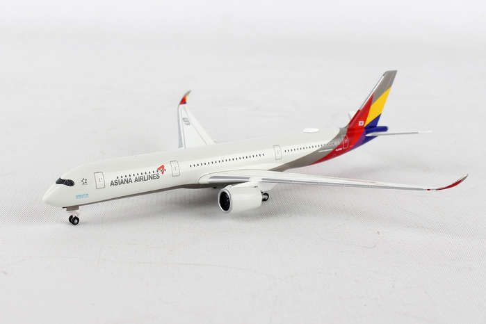 Asiana A350-900XWB HL8078 (1:500), Herpa 1:500 Scale Diecast Airliners Item Number HE529983