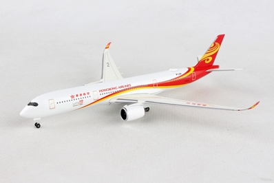 Hong Kong Airlines Airbus A350-900 B-LGA (1:500), Herpa 1:500 Scale Diecast Airliners Item Number HE531221