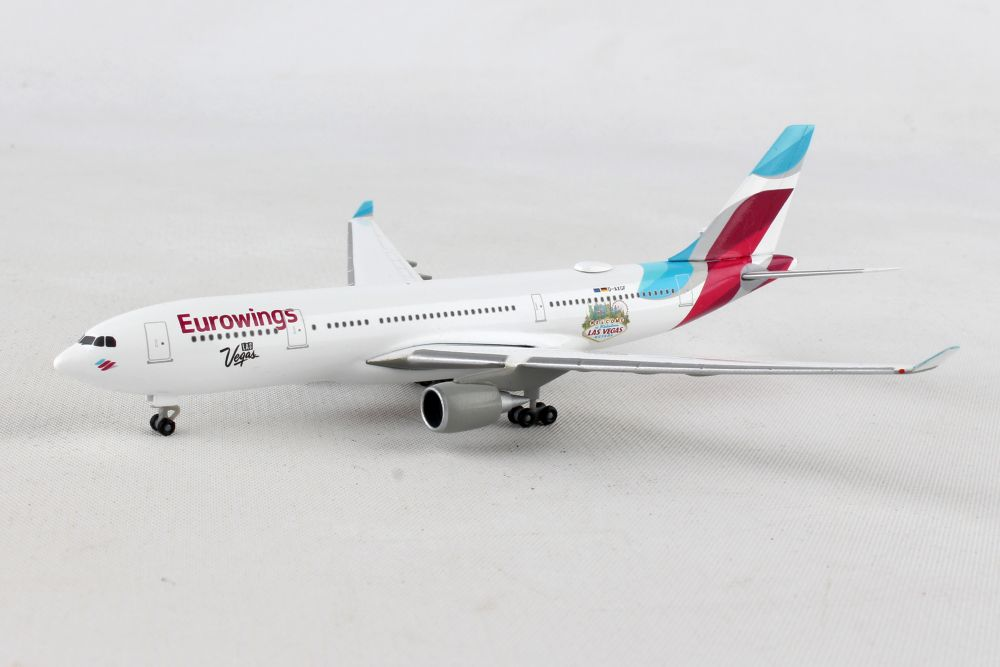 "Eurowings A330-200 ""Las Vegas"" D-AXGF (1:500), Herpa 1:500 Scale Diecast Airliners Item Number HE531436"