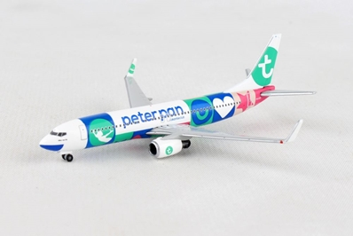 "Tranasavia 737-800 ""Peter Pan"" PH-HSI (1:500), Herpa 1:500 Scale Diecast Airliners Item Number HE531450"