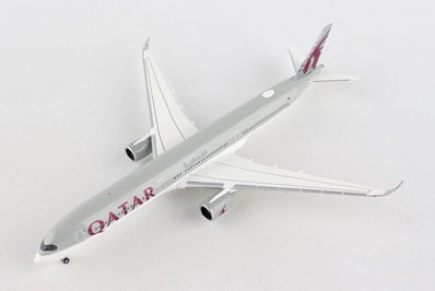 Qatar Airways Airbus A350-1000 A7-ANA (1:500), Herpa 1:500 Scale Diecast Airliners Item Number HE531597