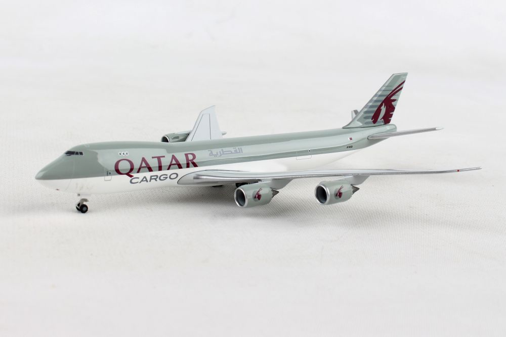 Qatar Airways Cargo Boeing 747-8F (1:500), Herpa 1:500 Scale Diecast Airliners Item Number HE531993