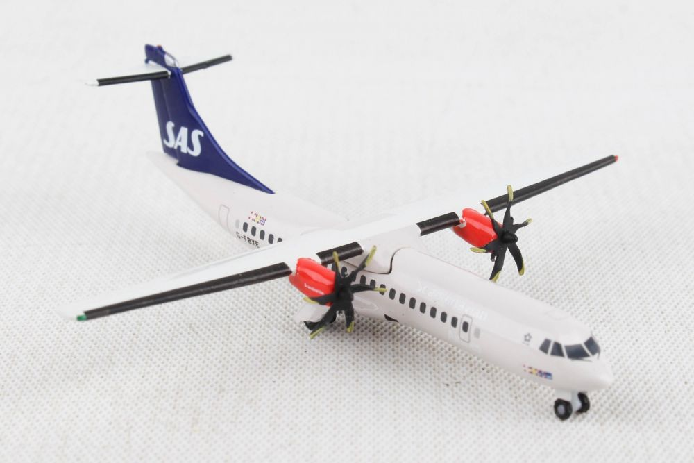 SAS Scandinavian Airlines ATR-72-600 (1:500), Herpa 1:500 Scale Diecast Airliners, Item Number HE533034
