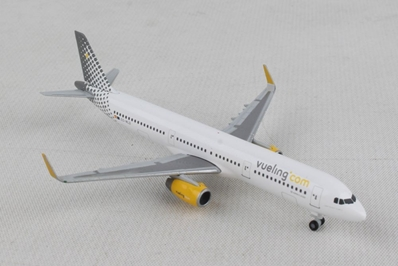 Vueling Airbus A321 (1:500), Herpa 1:500 Scale Diecast Airliners, HE533218
