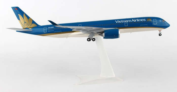 Vietnam A350XWB VN-886 (1:200), Herpa 1:200 Scale Diecast Airliners Item Number HE557498