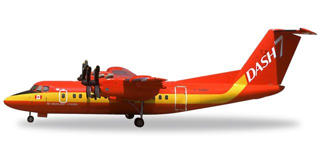 "De Havilland DHC-7 ""Dash-7"" C-GNBX (1:200), Herpa 1:200 Scale Diecast Airliners Item Number HE557795"