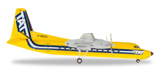 Transport Aerien Transregional TAT FH-227 F-GCLO (1:200), Herpa 1:200 Scale Diecast Airliners Item Number HE558594