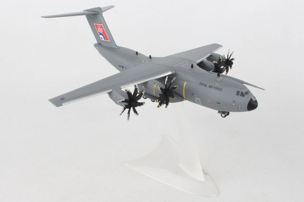 "A400M Atlas C.1, RAF No LXX Squadron, RAF Brize Norton - ""RAF 100"", ZM416 - Preorder item, order now for future delivery, Herpa 1:200 Scale Diecast Airliners Item Number HE559447"