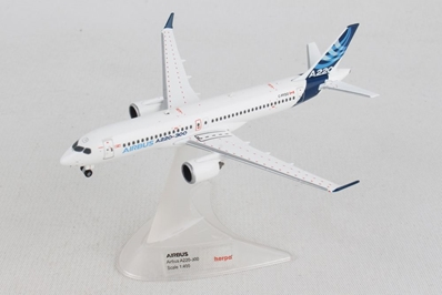 "Airbus ""House Colors"" A220-300 (1:400), Herpa 1:400 Scale Diecast Airliners, HE562690"