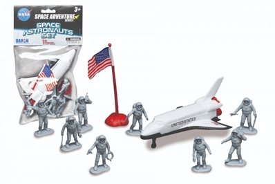 Space Astronauts 11 Piece Space Set In Bag