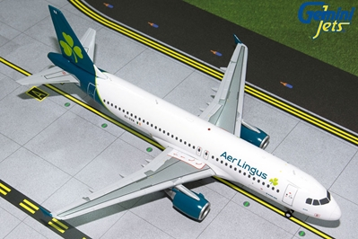 Aer Lingus A320-200 (New Livery) EI-CVA (1:200) by GeminiJets 200 Diecast Airliners Model number G2EIN831