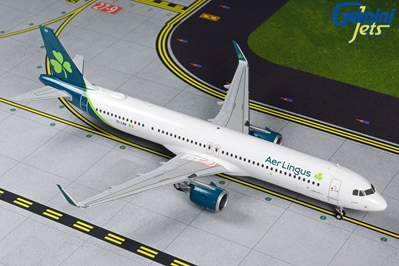Aer Lingus A321LR 2019 livery  EI-LRA(1:200) by GeminiJets 200 Diecast Airliners