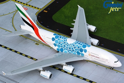 "Emirates A380 A6-EOC blue ""Expo 2020"" livery (1:200)"