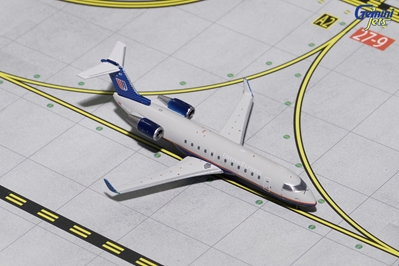 "United Express CRJ-200 ""Gray Livery"" N417AW (1:400)?, GeminiJets 400 Diecast Airliners Item Number GJUAL1633"