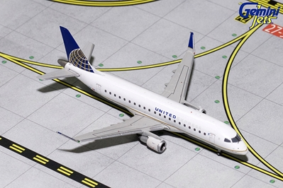United Express ERJ-175 N163SY (1:400), GeminiJets 200 Diecast Airliners, Item Number GJUAL1728