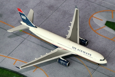 US Airways A330-200 N280AY (1:400), GeminiJets 400 Diecast Airliners Item Number GJUSA1125