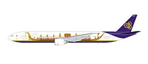 "Thai B777-300 ""Royal Barge"" (1:400) by GeminiJets 400 Diecast Airliners"