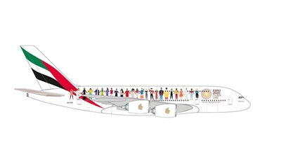 "Emirates A380 ""Year Of Tolerance"" (1:500)"
