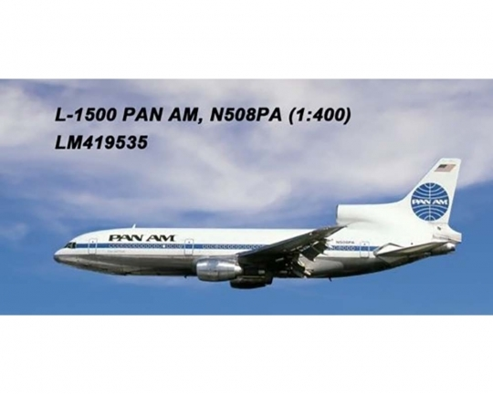Pan Am L-1011 N508PA (1:400) by Lochness Airplane Models Item number LM419535