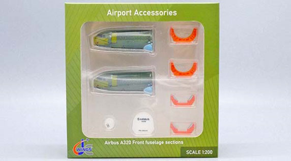 Airbus A320 Front Fuselage Sections Set (1:200)