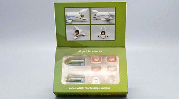 Airbus A320 Front Fuselage Sections Set (1:400)