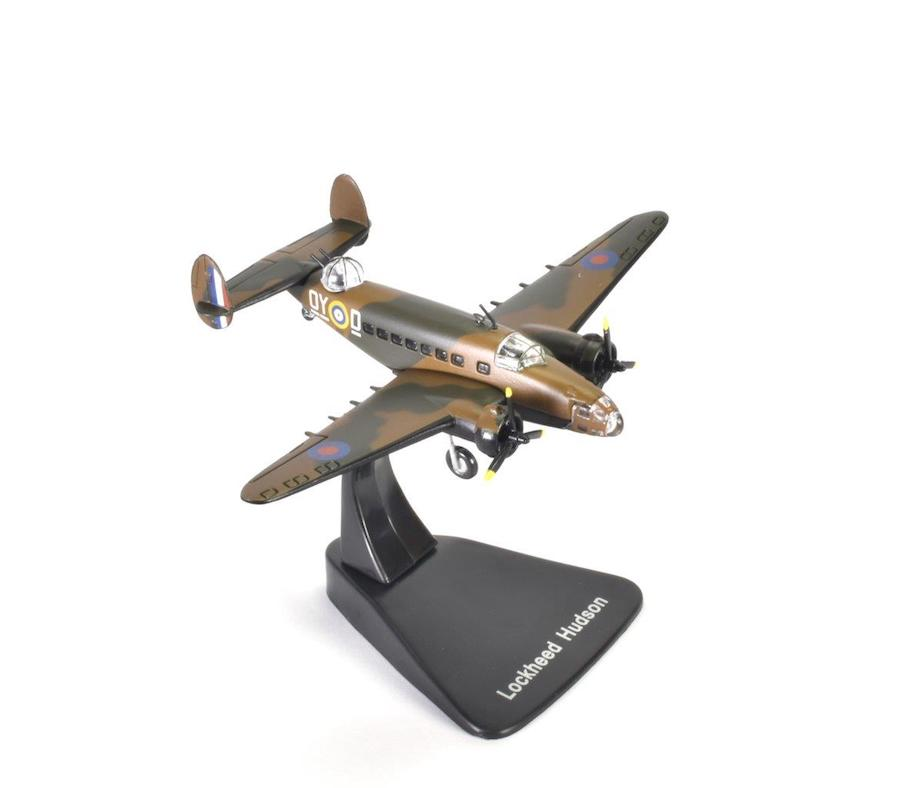 Lockheed Hudson, No. 11 Bomber Reconnaissance (BR) Squadron, Royal Canadian Air Force Eastern Air Command, Torbay, Newfoundland, 1942 (1:144)