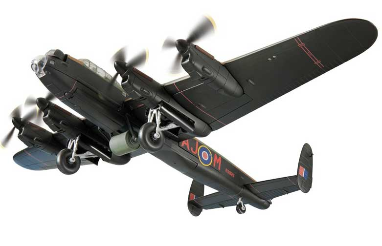 Avro Lancaster BIII(Special), ED925 'Mother', 617 Dambuster Sqn, 'Operation Chastise', RAF Scampton, May 1943 (1:72)