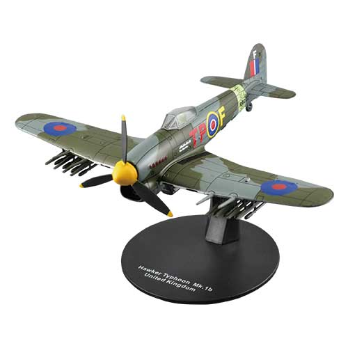 Hawker Typhoon Mk.1b 198 Squadron, Battle of the Falaise Pocket, Royal Air Force, 1944 (1:72)