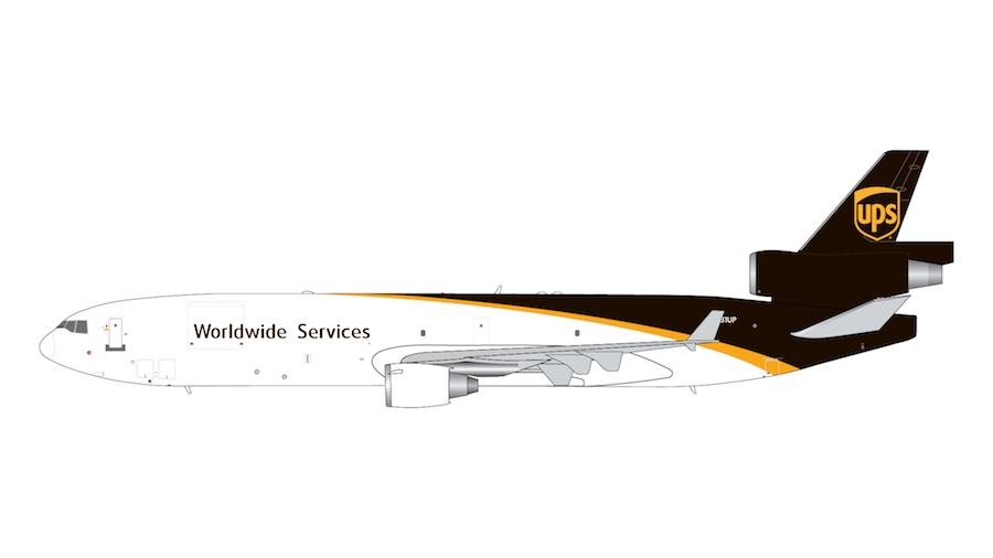 UPS Airlines MD-11F N281UP (1:400)