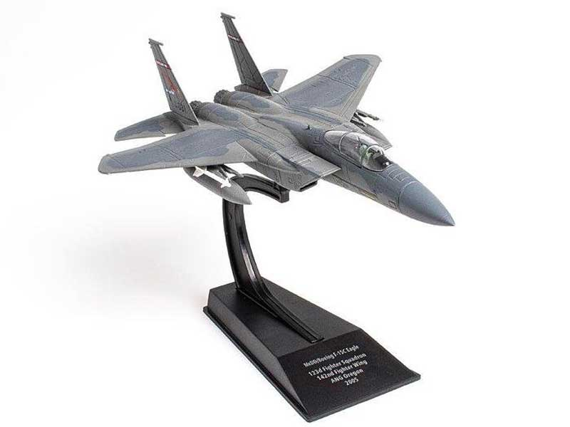 F-15C Eagle 123rd Fighter Squadron, 142nd Fighter Wing, Oregon National Guard, 2005 (1:100)