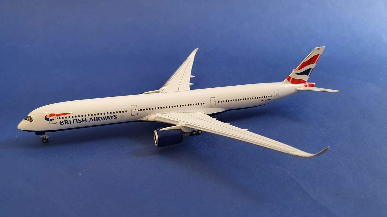 British Airways A350-1000 G-XWBB (1:500)