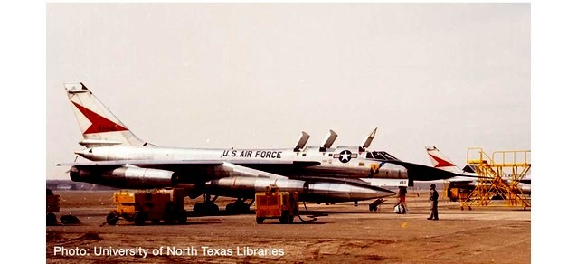 USAF B-58A 43rd BW, Carswell Air Base (1:200)