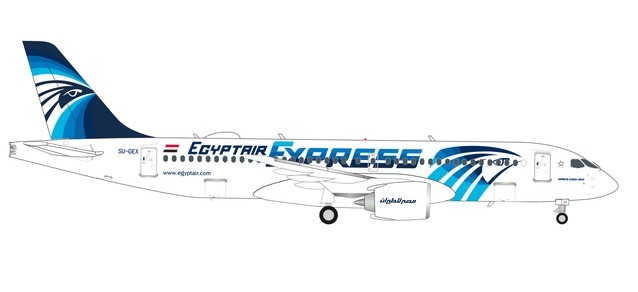 Egypt Air Express A220-300 SU-GEX (1:200)