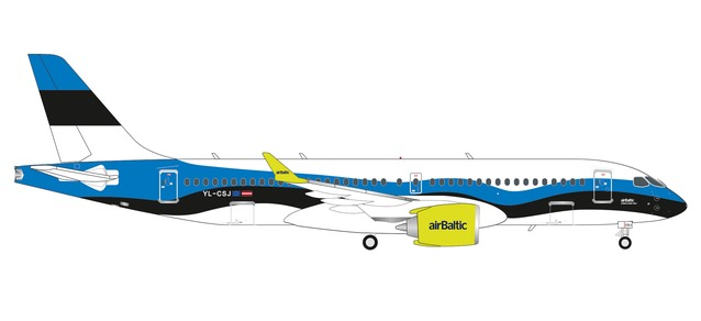 "Air Baltic Airbus A220-300 ""Estonia"" (1:200)"
