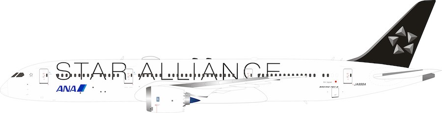 "ANA Boeing JA899A 787-9 ""Star Alliance"" (1:200)"