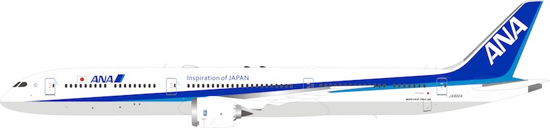 All Nippon Airways ANA Boeing 787-10 Dreamliner JA900A (1:200)