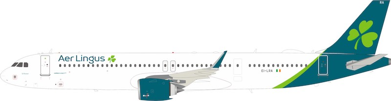 Aer Lingus  Airbus A321-253NX EI-LRA With Stand (1:200)