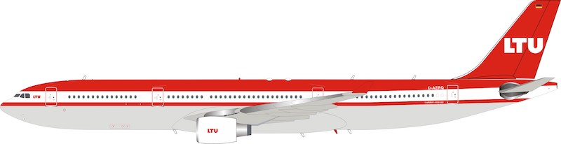 LTU Airbus A330-300 D-AERQ With Stand (1:200)