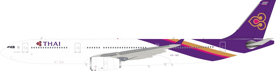 Thai Airways A330-343 HS-TBC (1:200)