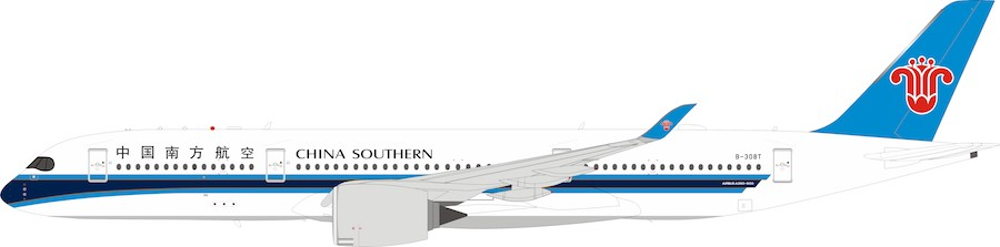 China Southern Airlines A350-900 B-308T With Stand (1:200)