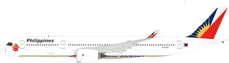 "Philippine Airlines Airbus A350-900 RP-C3507 ""Love Bus"" (1:200)"