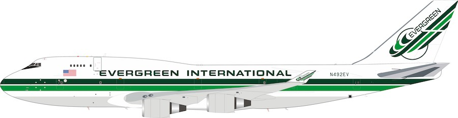 Evergreen International Airlines Boeing 747-400 N492EV (1:200)