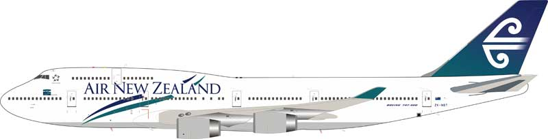 Air New Zealand Boeing 747-419 ZK-NBT stand included (1:200)