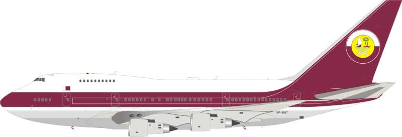 Qatar Amiri Flight Boeing 747SP VP-BAT (1:200)