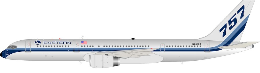 Eastern Air Lines Boeing 757-225 N501EA (1:200)